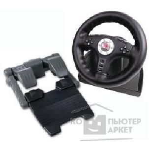 Руль SpeedLink [SL-6696] 4in1 Leather Force Feedback Steering Wheel руль с педалями