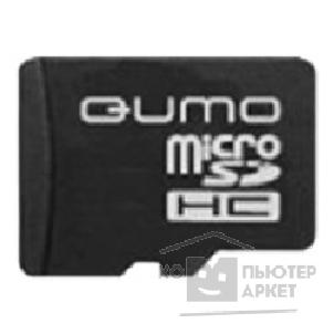 Карта памяти  Qumo Micro SecureDigital 4Gb  QM4GCR-MSD10-FD-RED CL10 + USB картридер FUNDROID Red