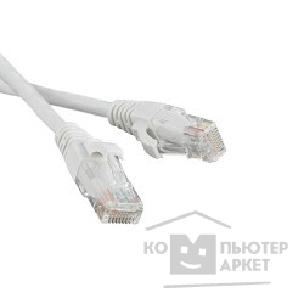 Патч-корд Hyperline PC-LPM-UTP-RJ45-RJ45-C5e-1M-WH Патч-корд UTP, Cat.5е, 1 м, белый