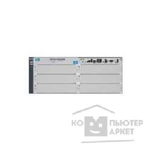 Сетевое оборудование Hp J8697A ProCurve Switch 5406zl 6-slot chassis Managed, Layer 3/ 4 router, Stackable 19', without powe