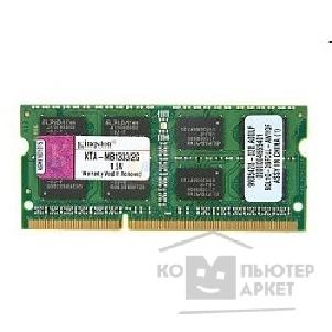 ������ ������ Kingston DDR3-1333 2GB SO-DIMM [KTA-MB1333/ 2G] for Apple Notebook
