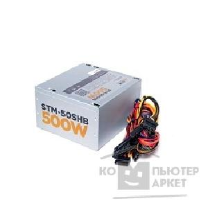 Storm Блоки питания STM-50SHB 500W, ATX, 120mm ball bearing, 3xSATA