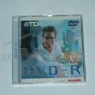 Диск Tdk DVD-R 4x, диск 4.7 Gb , Jewel Case