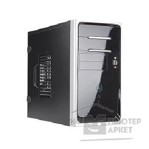 Корпус Inwin Mini Tower  EM-020BS Black 450W 12V 2*USB+AirDuct+Audio mATX [6045892]