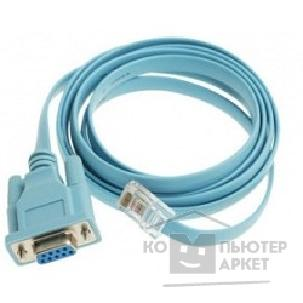 Кабель Cisco CAB-CONSOLE-RJ45= Console Cable 6ft with RJ45 and DB9F