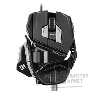 Mad Catz Мышь  M.M.O.7 Gaming Mouse - Gloss Black проводная лазерная MCB4371300C2/ 04/ 1