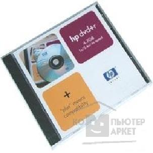 Диск Hp DVD+R 4x, диск 4.7 Gb, , Jewel Case 19202