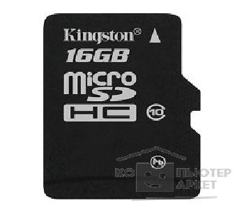 Карта памяти  Kingston Micro SecureDigital 16Gb  SDCA10/ 16GBSP