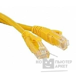 Патч-корд Hyperline PC-LPM-UTP-RJ45-RJ45-C6-10M-YL Патч-корд U/ UTP, Cat.6, 10 м, желтый