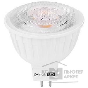 Светодиодные лампы (LED) Canyon MRGU53/ 8W230VW60 LED lamp, MR shape, GU5.3, 7.5W, 220-240V, 60°, 540 lm, 2700K, Ra>80, 50000 h