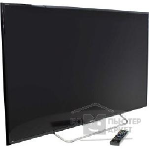 "Телевизор Sony 48"" KDL-48W705C BRAVIA черный/ серебристый/ FULL HD/ 200Hz/ DVB-T/ DVB-T2/ DVB-C/ DVB-S/ DVB-S2/ USB/ WiFi/ Smart TV RUS"
