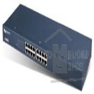 Сетевое оборудование ZyXEL ES-1016A EE Unmanaged switch, 16 ports 10/ 100, RJ-45, 19'