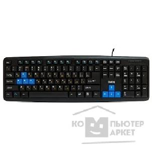 Клавиатура Dialog KM-025U Black-Blue Multimedia Black - USB