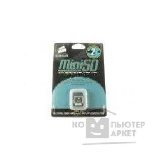 Карта памяти  Corsair  Mini SecureDigital 512Mb Corsair, CMFSDMini-512