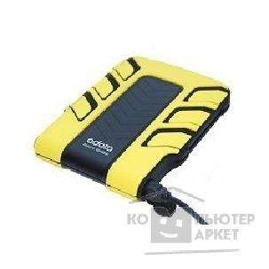 Носитель информации A-data HDD 2.5''  Sport SH93 640Gb USB2.0 Black/ yellow, Shockproof, Waterproof [ASH93-640GU-CYL]