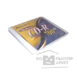 Диск Sony CD-R  700 Mb 48X Slim Case, 10шт. [10CDQ80NSLD/ 10CDQ80N5SDM]