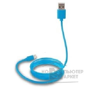 Кабель Canyon CNS-MFICAB01BL Ultra-compact MFI Cable, certified by Apple, 1M, 2.8mm , blue color