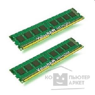 Модуль памяти Kingston DDR-III 4GB PC3-10600 1333MHz Kit 2 x 2GB  [KVR1333D3S8N9K2/ 4G]