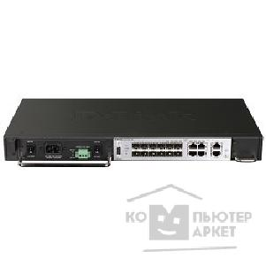 Сетевое оборудование D-Link DGS-3700-12G/ E 8-port Gigabit SFP ports, 4 combo ports, 10/ 100/ 1000 Management port, 10/ 100/ 1000 Alarm Port Management Switch