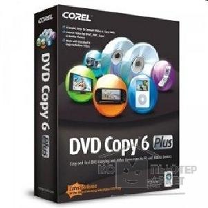Программное обеспечение Corel DC6PLIEPC DVD Copy 6 Plus ENG