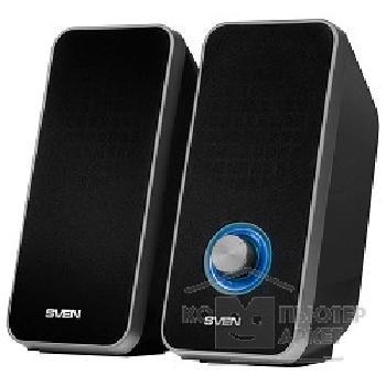 Колонки Sven 325 2.0 Black 2х3 Вт 80-20000 Гц mini Jack USB