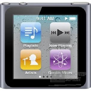 Плеер Apple iPod nano 6 16GB - Graphite MC694QB/ A