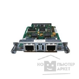 Модуль Cisco VWIC2-2MFT-T1/ E1= VWIC2-2MFT-T1/ E1 Модуль 2-Port 2nd Gen Multiflex Trunk Voice