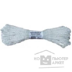 Fit КУРС БЕЛ Веревка вязаная полипропиленовая, 4 мм х 20 м, р/ н= 65 кгс [68382]/Fit КУРС БЕЛ Веревка вязаная полипропиленовая, 4 мм х 20 м, р/ н= 65 кгс [68382]