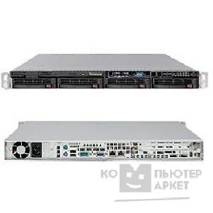 Сервер Supermicro SYS-6016T-MT SERVER SYSTEM 1U BLACK