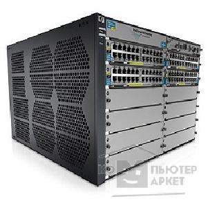 Сетевое оборудование Hp J9643A Коммутатор  E5412 zl with Premium Software, 12 open module slots,  PCM+, 758.4 Gbps