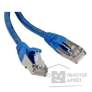 Патч-корд Hyperline PC-LPM-STP-RJ45-RJ45-C6-2M-LSZH-BL Патч-корд F/ UTP, экранированный, Cat.6, LSZH, 2 м, синий