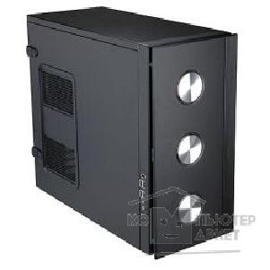 Корпус Inwin MidiTower  O3 Black, Audio + FAN +USB 550W 12V ATX [1178165/ 6008551]