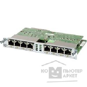 ������� ������������ Cisco EHWIC-D-8ESG-P= Eight port 10/ 100/ 1000 Ethernet switch interface card w/ PoE