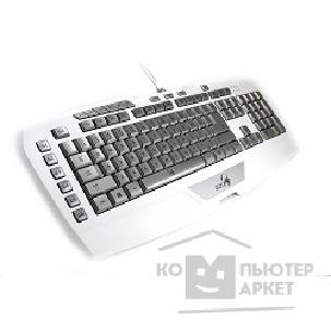 Genius Клавиатура  GX Gaming Imperator Pro White Edition белый USB Multimedia Gamer LED