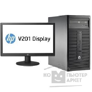 Компьютер Hp 280 G1 Bundle [L3E21ES] MT G3250/ 2GB/ 500GB/ DVDRW/ DOS/ k+m + V201