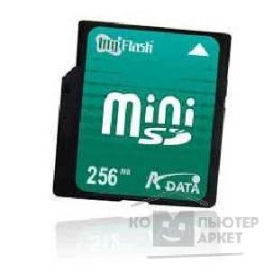 Карта памяти  SanDisk Mini SecureDigital 256MB A-DATA  Mini SD Memory Card