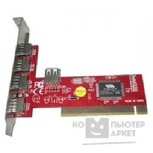 Контроллер USB 2.0 4+1 port VIA6212 PCI OEM