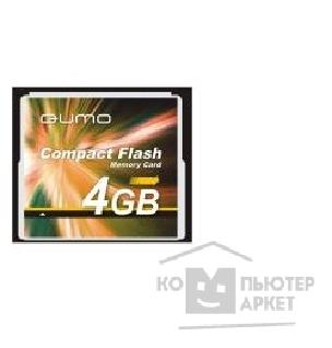 Карта памяти  Qumo Compact Flash 4Gb  QM4GCF130 120-x