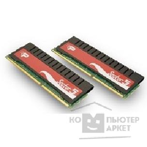 Модуль памяти Patriot DDR-III 4GB PC3-16000 2000MHz Kit 2 x 2GB [PGV34G2000ELK] SECTOR 5 G series