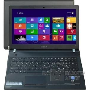 Ноутбук Lenovo E50-80 [80J20156RK] black 15.6 HD Pen 3825U/ 2Gb/ 500Gb/ DVDRW/ W8.1