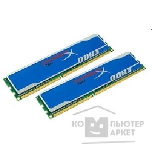 Модуль памяти Kingston DDR3 16GB PC3-12800 1600MHz Kit 2 x 8GB  [KHX1600C10D3B1K2/ 16G] HyperX Blu CL10