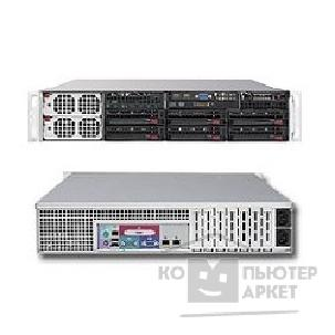 Сервер Supermicro SYS-8026B-TRF SERVER SYSTEM 2U SATA BLACK