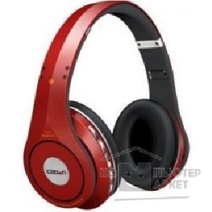 Наушники Crown CMBH-9288 Наушники Bluetooth Headphone red