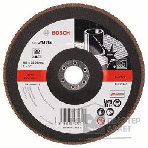 Bosch Bosch 2608607332 КРУГ ЛЕПЕСТК 180мм K80 Best for Metal