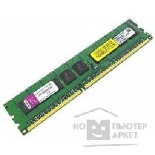 Модуль памяти Kingston DDR3 4GB PC3-8500 1066MHz [KVR1066D3E7S/ 4G] ECC CL7 w/ TS