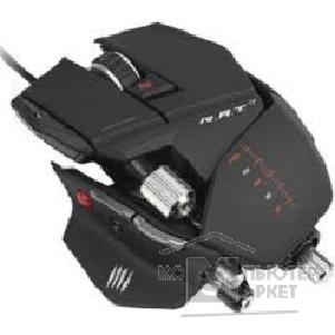 Mad Catz Мышь  R.A.T.7 Gaming Mouse - Matt Black проводная лазерная MCB4370800B2/ 04/ 1