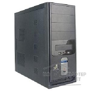 Корпус SuperPower MidiTower SP 6221-CA 600W, ATX, Black-Silver, 4*SATA, PCI-E, AirDuct, USB2.0