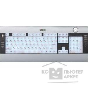 Клавиатура Dialog KF-L3SP, Favourite Keyboard, PS/ 2 Подсветка клавиш, Silver