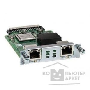 Модуль Cisco VWIC3-2MFT-G703= 2-Port 3rd Gen Multiflex Trunk Voice/ WAN Int. Card - G.703