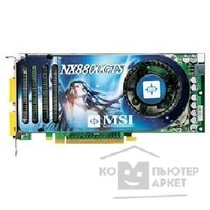Видеокарта MicroStar MSI NX8800GTS-T2D320E -HD-OC  V801-240/ 244/ 251 320Mb DDR, 2xDVI, TV-out, HDTV, PCI-E RTL